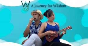 a Journey for Wisdom billboard